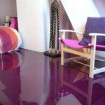 Pavimento autonivelante decorativo