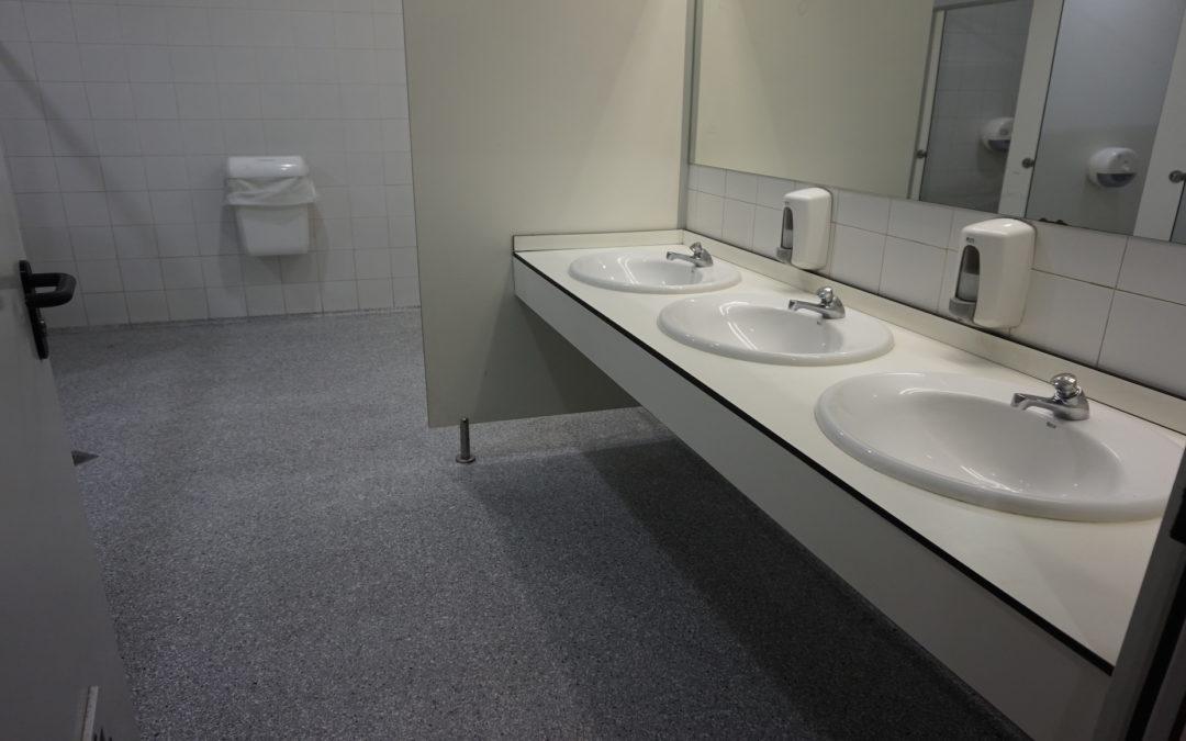 Pavimentos antideslizantes para baños