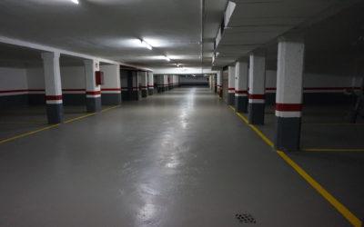 Pintado de suelos de garajes