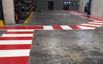 Pintado y señalización de suelos